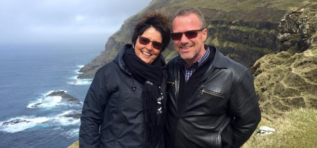 Leif and Susanne on meeting I'm Faroe Islands